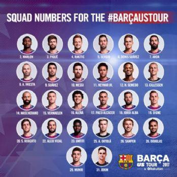 Barcelona'da Arda'nın numarası değişmedi