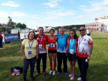 İlke Özyüksel'den Belarus'ta bronz madalya
