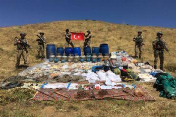 PKK'nın 2 odalı sığınağı imha edildi
