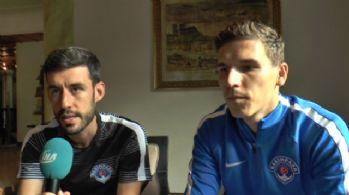 Pavelka: Ligin en iyi takımlarından birisi olmak istiyoruz