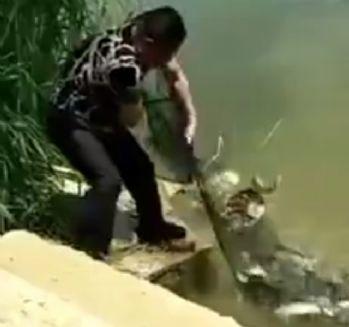 Balık tutma keyfi hüsranla sonuçlandı