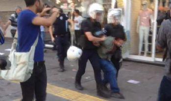 Başkent'te Gülmen ve Özakça eylemine müdahale