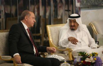 Cumhurbaşkanı Erdoğan, Suudi Kralı ile görüştü