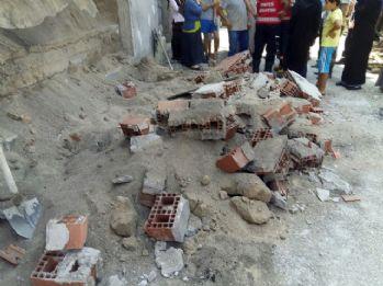 Oyun oynayan çocukların üzerine duvar çöktü: 4 yaralı