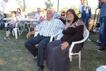 Evlendikten 47 yıl sonra düğünlerini yaptılar