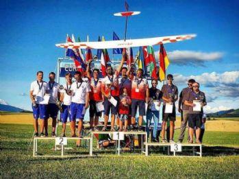 Model uçak F3J milli takımı Avrupa şampiyonu oldu