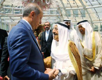 Cumhurbaşkanı Erdoğan Katar'a uğurlandı