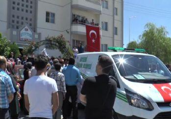 İstanbul şehidi son kez baba evinde