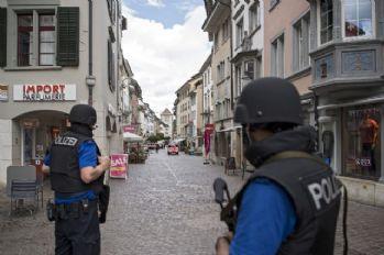 İsviçre'de testereli saldırgan dehşeti: 5 yaralı