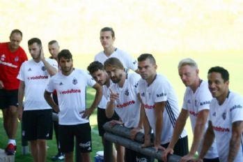 Beşiktaş çalışmaya devam etti