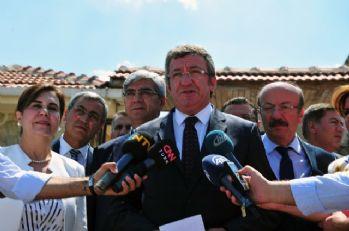 CHP'li Altay ve beraberindekiler Filistin Büyükelçisi ile görüştü