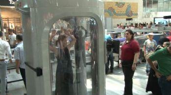 Atatürk Havalimanında vücut tarayıcılar kullanılmaya başlandı
