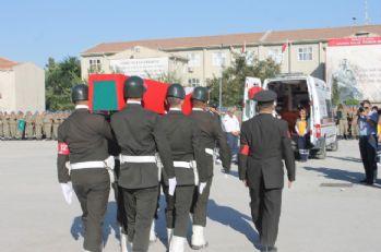 Şehit Astsubay Akdağ için tören düzenlendi
