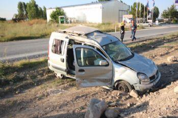 Cenaze dönüşü kaza: 5 yaralı