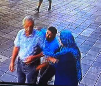 İstanbul'da kapkaç anı kamerada !