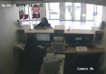 'Ölü hesaplar'a dublörlü soygun yapan şebeke kamerada
