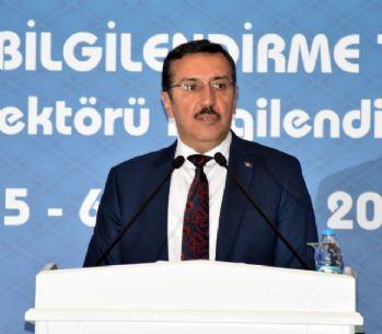 Bakan Tüfenkci, iş dünyasını FETÖ'ye karşı uyanık olmaya çağırdı