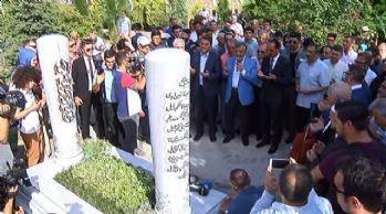 'Tarihçilerin Kutbu' mezarı başında anıldı