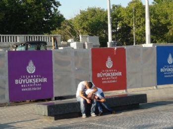Taksim'de bonzai içen gencin görüntüsü yürek sızlattı