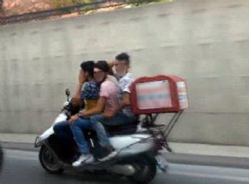 İstanbul trafiğinde tehlikeli anlar kamerada