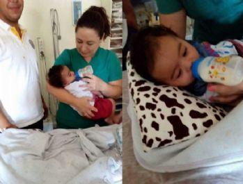 6 aylık bebeği su kanalına terk ettiler