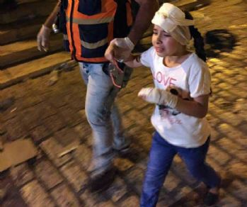 İsrail polisi 13 Filistinliyi yaraladı