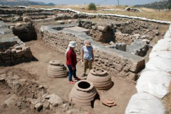 Komana Antik Kenti'nde çalışmalar sürüyor