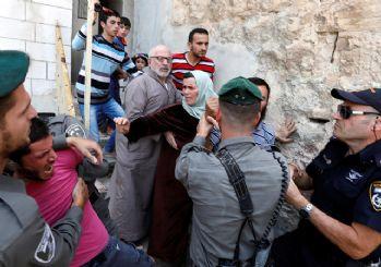 Batı Şeria'da yeni skandal! El koydular