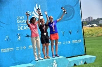 Deaflympics'te golf müsabakaları tamamlandı