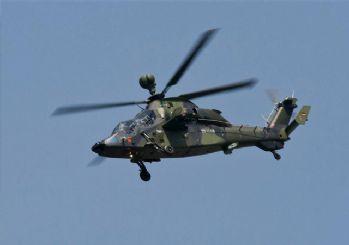 Alman helikopteri düştü! Pilotlardan haber alınamadı