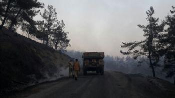 Orman yangını Turgutlu sınırına ulaştı