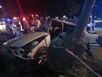 Kadıköy'de feci kaza: 1 ölü, 1 yaralı
