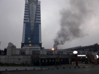İstanbul'da lüks otelde yangın paniği