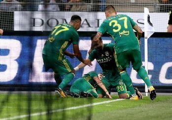 Fenerbahçe tur kapısını araladı! 2-1