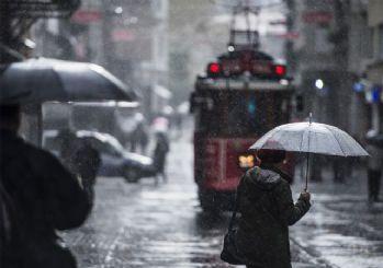İstanbul'da sağanak yağış bekleniyor: Meteoroloji saat verdi