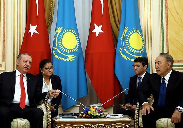 Erdoğan Kazakistan'da: 2 Milyar dolar yetmez 5 milyar dolara...