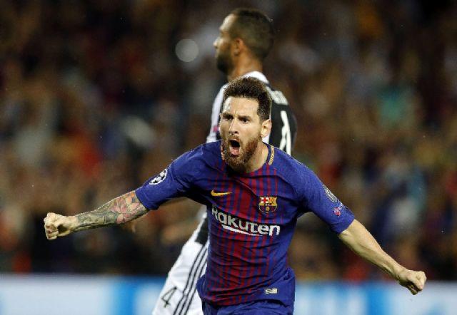 Messi Juve'yi yıktı
