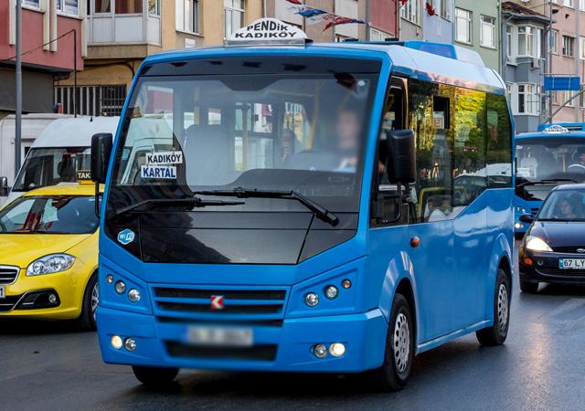 İstanbul'da minibüslere zam!