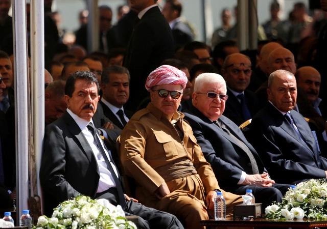 Barzani referandumdan sonra ilk kez görüntülendi