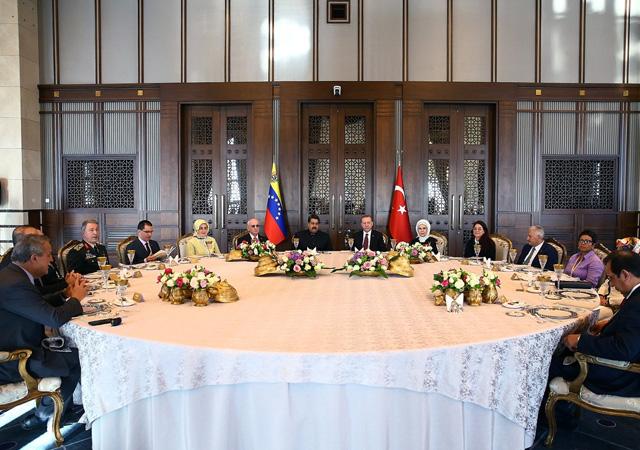 Erdoğan ve Maduro'nun ortak basın toplantısı