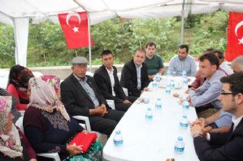 Ömer Halisdemir'in babasından Eren'in ailesine taziye ziyareti