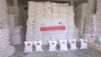 Türk Kızılayı Yemen'e yardım elini uzattı