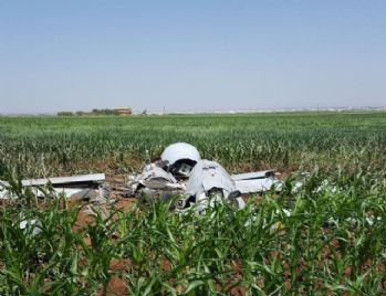 Şanlıurfa'da insansız hava aracı düştü