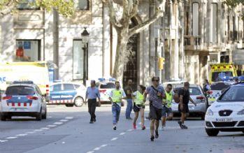 Barselona'da canlı bomba vurularak etkisiz hale getirildi