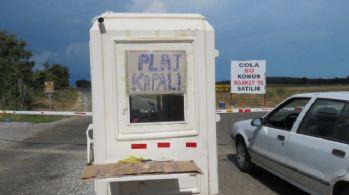 Görevli darp edilince işletme sahibi plajı kapattı