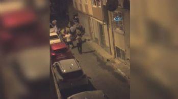 İstanbul'da olay çıkaran şahısla polis arasında arbede