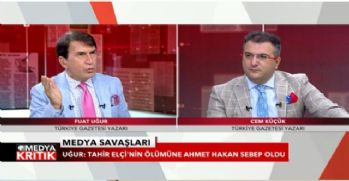 'Tahir Elçi'nin ölümüne Ahmet Hakan sebep oldu'