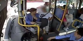 Yankesiciyi otobüs şoförü fark etti