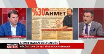 'İGDAŞ'tan çaldığın paraların hesabını ver Ahmet Hakan'