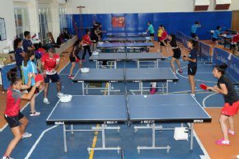 Masa tenisinde hedef Avrupa Şampiyonluğu